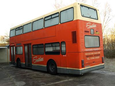 Bus & Coach World, Blackburn 12th. December 2010