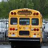1995 International Harvester 3600 American School Bus Michigan plate rear