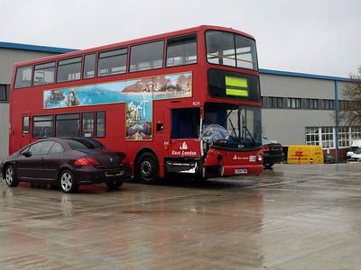 Bus & Coach World, Blackburn 2nd. February 2010