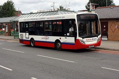 KX58 GVF at Kingston Cromwell Road Bus Station.
