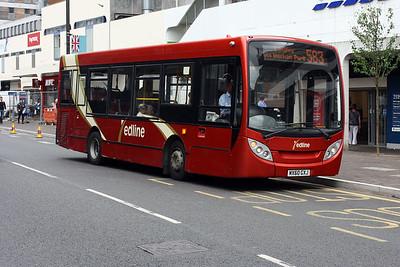 MX60 GXJ at Uxbridge Town Centre.