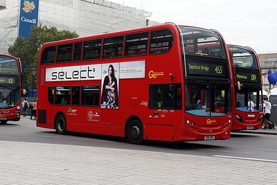 E 181-SN61 BHU at Trafalgar Square.