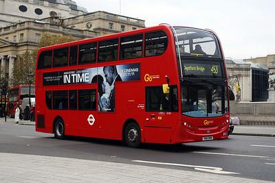 E 183-SN61 BHW at Trafalgar Square.