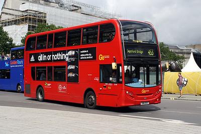 E 184-SN61 BHX at Trafalgar Square.