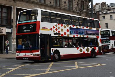 644-SK52 OHC on Princes Street, Edinburgh City Centre.