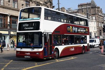 643-SK52 OHB on Princes Street, Edinburgh City Centre.