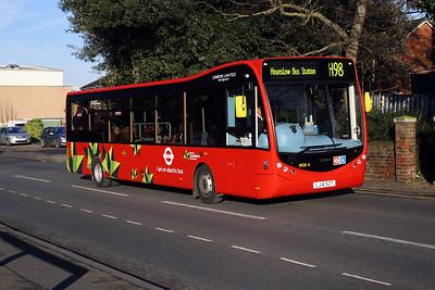 OCE 4-LJ14 SZT on the High Street, Harlington.