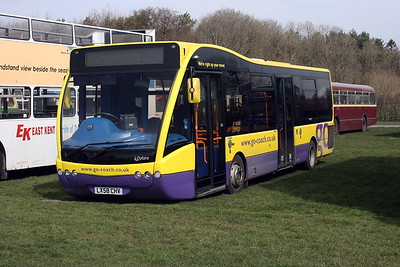 LX58 CHV at the South East Bus Festival, Detling Show Ground 2018.