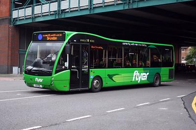 806-YJ11 ENL at Derby City Centre.