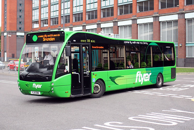 808-YJ11 ENN at Derby City Centre.