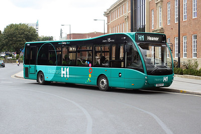 831-YD63 VCY at Derby City Centre.