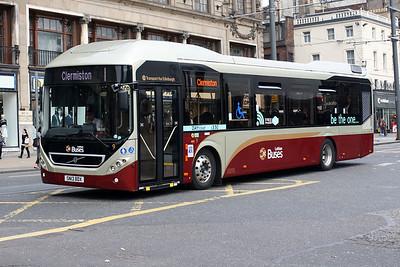 9-SN13 BDX on Princes Street, Edinburgh City Centre.