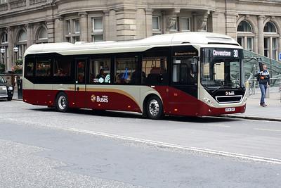 18-BT14 DKF on Princes Street, Edinburgh City Centre.
