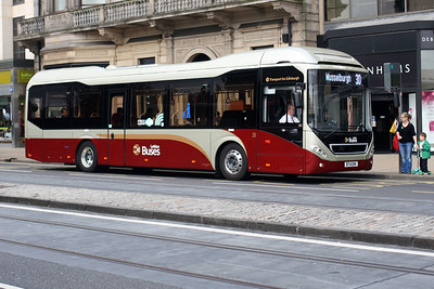 20-BT14 DKK on Princes Street, Edinburgh City Centre.