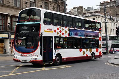 920-SN08 BYO on Princes Street, Edinburgh City Centre.