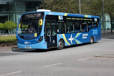6126-SK19 FCE at City Place, Gatwick Airport.
