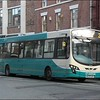 Arriva North West Wright bodied VDL 3003 (MX59AAK) heads along Upper Northgate Street on a service 2 working to the bus station - 11 March 2013.