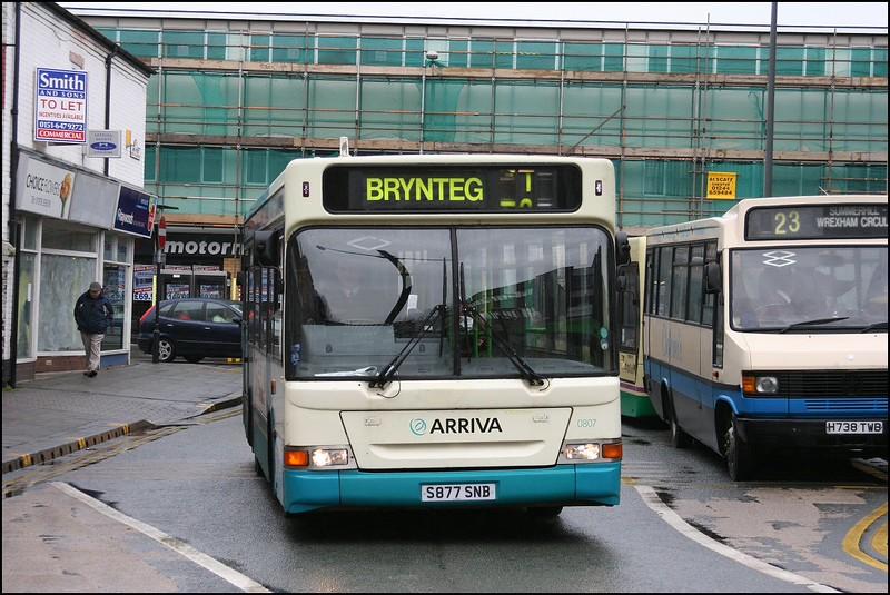 Wrexham Bus Station
