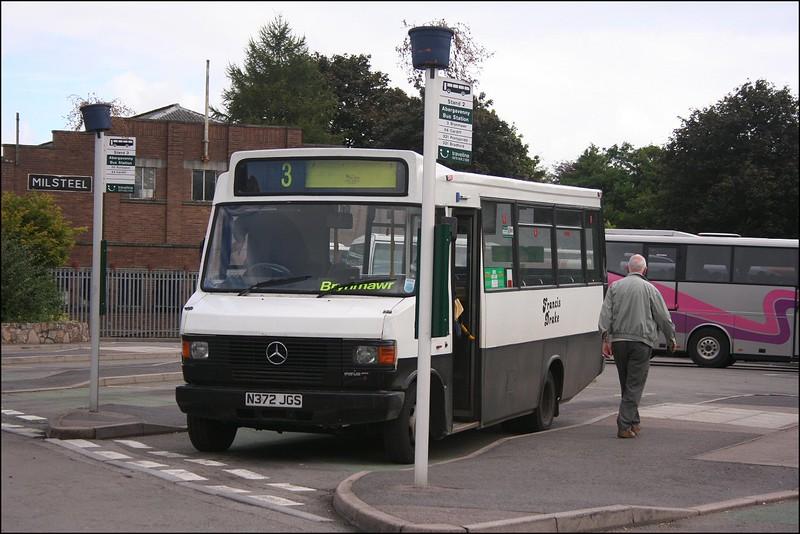 Abergavenny Bus Station