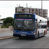 Stagecoach North West MAN 22818 (X818SRM) heads out of Morecambe on service 3 to Lancaster University - 25 June 2008.