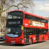 Metroline Wright Eclipse Gemini bodied Volvo, VWH2002 (LK14FAF), slowly makes its way along Cumberland Gate whilst operating on route 7 to East Acton - 13 April 2016.