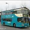 Arriva The Shires Volvo Olympian 5157 (S157KNK) prepares to load at Oxford Railway Station on service 280 to Aylesbury - 1 March 2003.