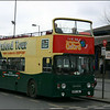 Guide Friday Leyland Atlantean BFS39L prepares to depart Oxford Railway Station on the City Sightseeing Tour - 10 April 2004.