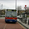 Oxford Bus Volvo 636 (P636FFC) in Park End Street, Oxford on service 4B to Rose Hill - 10 April 2004.
