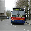 Oxford Bus Volvo 641 (P641FFC) in Castle Street, Oxford on service 4 to Abingdon - 10 April 2004.