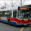 Oxford Bus Volvo 803 (T803CBW) at Oxford Station on service 5 to Blackbird Leys - 10 April 2004.
