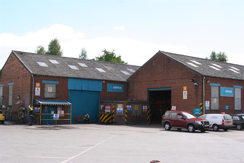 Oswestry (Arriva Depot)