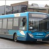 Arriva Kent & Surrey Alexander Dennis Enviro200, 4022 (GN58BUO), waits at stand 19 of the Commercial Road stands to the bus station on a route 36 working to Merrow - 3 February 2015.