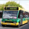 Stagecoach Midland Red South Optare Solo 47026 (YG52DHM), in the yellow and green 'County Links' livery, departs Nuneaton Bus Station on service 4 to Horston Grange - 26 April 2007.