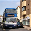 Stagecoach Midland Red South Volvo Olympian 16614 (S914ANH) arrives in Market Street, Warwick on service 16 to Stratford - 26 April 2007.