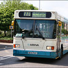 Arriva Midlands Scania 3470 (N170PUT) passes Stagecoach's Nuneaton Depot as it heads for the bus station on service 776 from Tamworth - 26 April 2007.