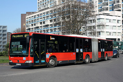 MAL 112-BX57 OXP London General at Elephant & Castle