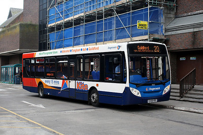 39652-GX08 HBO Stagecoach Hampshire in Guildford Bus Station