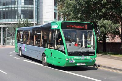 Nottingham City Transport 315-YK08 EPO at Nottingham City Centre