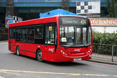 8107-YX58 DTV Abellio London in Purley