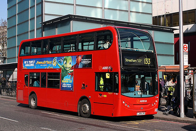 T 106-LJ59 LYD Arriva London at the Elephant & Castle