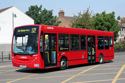ENL 61-LJ10 CTK Arriva London in East Ham