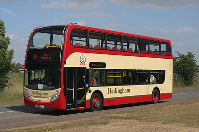 L 386-SN10 CCV Headingham Buses at North Weald last year