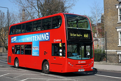 T 169-LJ60 AUU Arriva London at the Bricklayers Arms