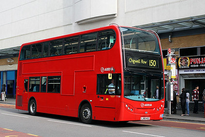 T 186-LJ60 ASZ Arriva London at Iiford Broadway