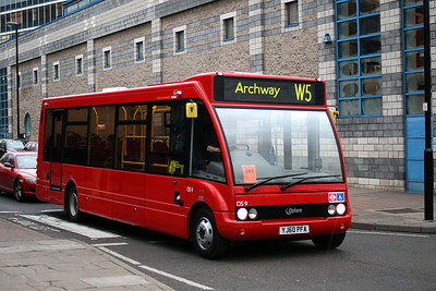 OS 9-YJ60 PFA CT Plus at Archway Station