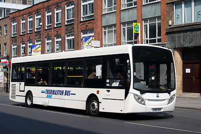 S17-KX60 DVP Thurmaston Bus in Leicester Town Centre