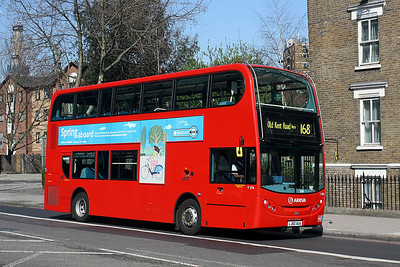 T 176-LJ60 AUA Arriva Londo at Bricklayers Arms