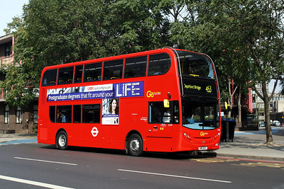 Go Ahead London E 169-SN61 BGY at the Elephant & Castle