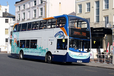 Stagecoach 15779-GN61 EWD at Worthing Sea Front.