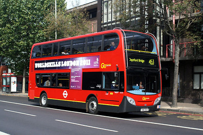 Go Ahead London E 173-SN61 BGE at the Elephant & Castle